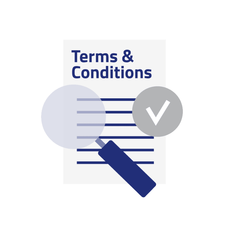 Accept terms and conditions governing the LEI code application process